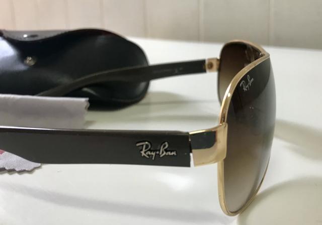 eb9af2659 Oculos Ray Ban Rb3471 001/13 Marrom Degrade Original ! - Bijouterias ...
