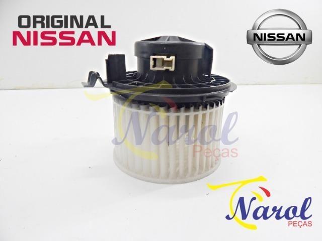 Motor Ventilador Ar Forçado Nissan March, Versa, Tiida, Livina, Sentra, Kicks - Foto 4
