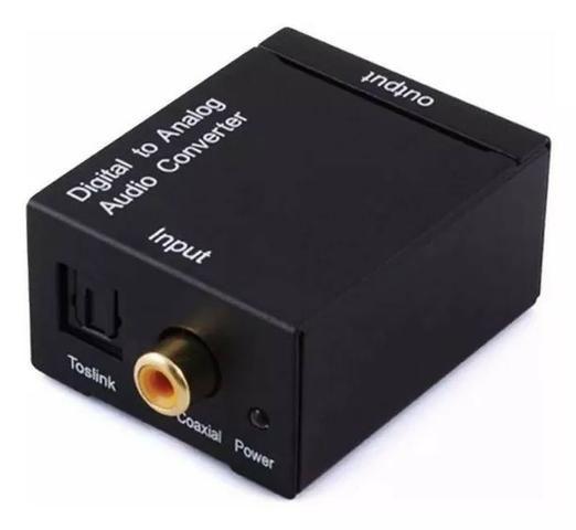 Conversor Audio Optico Digital Para Rca Analógico