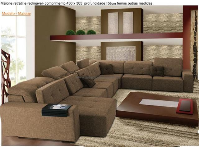 Sofá de canto sob medida( luxo) - Foto 3