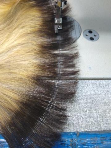 Costuro cabelo em metro
