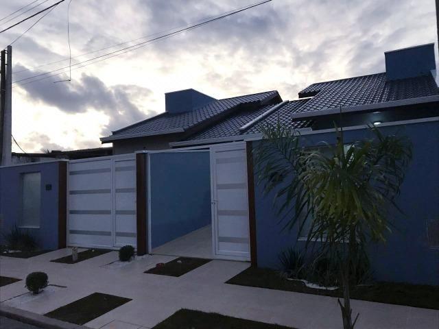 Casa na Praia Novissima com Piscina