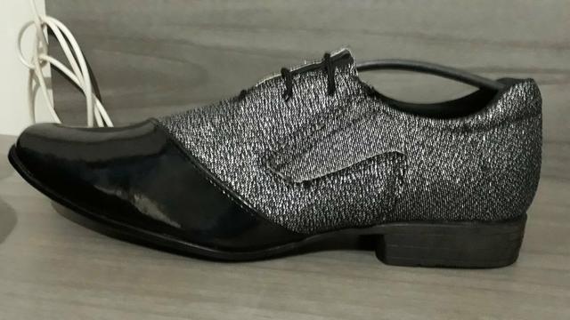 Vendo Sapato novo n° 41/42 ,sem uso 100,00 - Foto 3