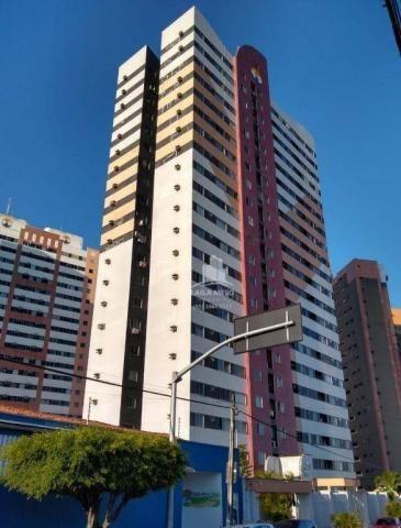 Apartamento com 3 dormitórios à venda, 53 m² próximo ao mega atacadista- cambeba - fortale