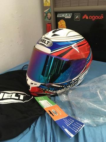 Vendo capacete helt New Race topppp