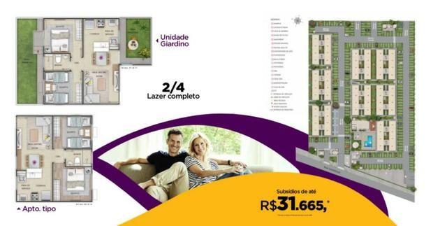 Apartamento 2/4 no Palace Fraga Maia com subsídio de até RS 31,665,00 - Foto 11