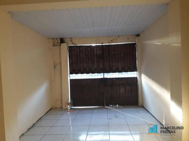 Casa com 2 dormitórios para alugar, 50 m² por r$ 659,00/mês - álvaro weyne - fortaleza/ce - Foto 3