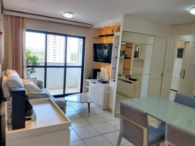 Apartamento projetado,60 m2,3 quartos, 2 vagas,edson queiroz - Foto 4