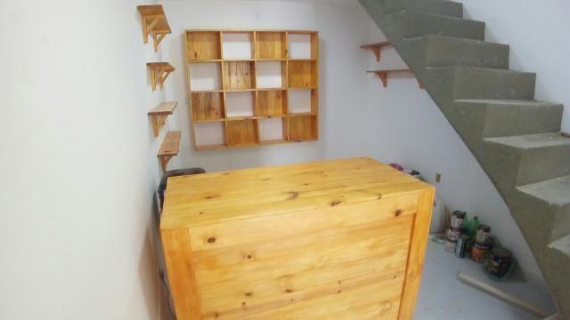 Açai,lanchonetes,balcao,bancos bolt,cobertas,decks,painel de paletes e madeiras - Foto 3