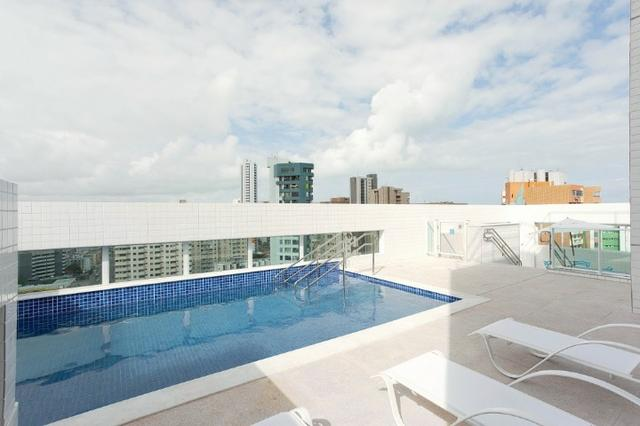 (L)Apartamento 2 Quartos 1 Suíte 1 vaga 52,65m² lazer próximo da praia Em Piedade - Foto 8