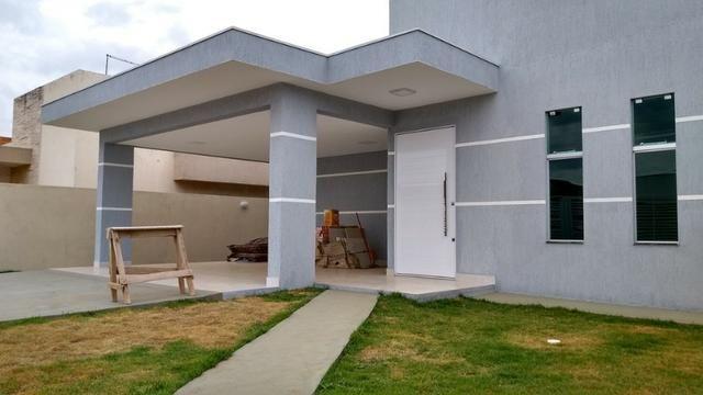 Samuel Pereira oferece: Casa Escriturada Nova Moderna Financia F G T S 3 Suites CABV
