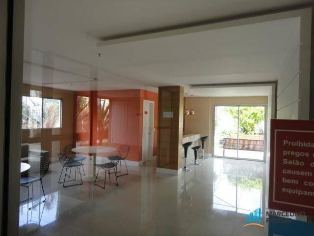 Apartamento com 2 dormitórios à venda, 54 m² por r$ 290.000,00 - jacarecanga - fortaleza/c - Foto 4