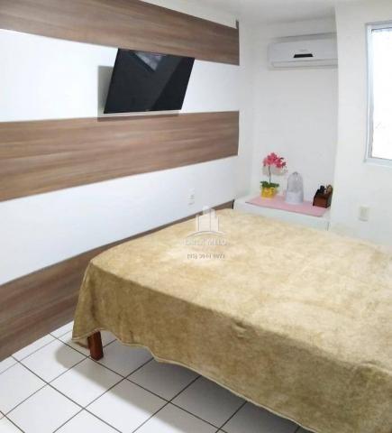 Apartamento com 3 dormitórios à venda, 53 m² próximo ao mega atacadista- cambeba - fortale - Foto 12