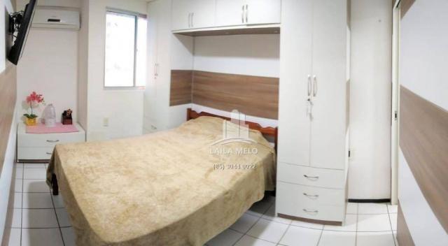 Apartamento com 3 dormitórios à venda, 53 m² próximo ao mega atacadista- cambeba - fortale - Foto 11