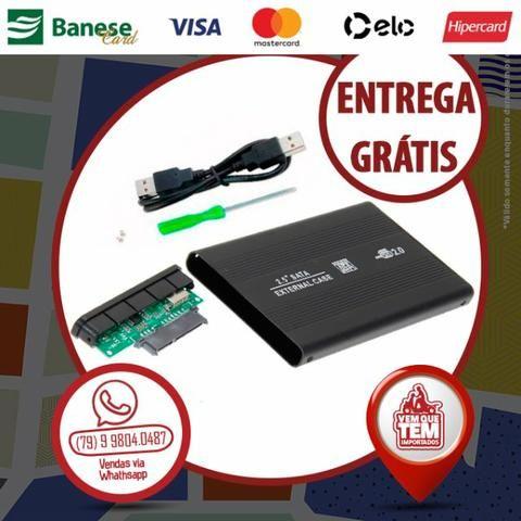 """Case para Hd externo 2,5"""" SATA"""
