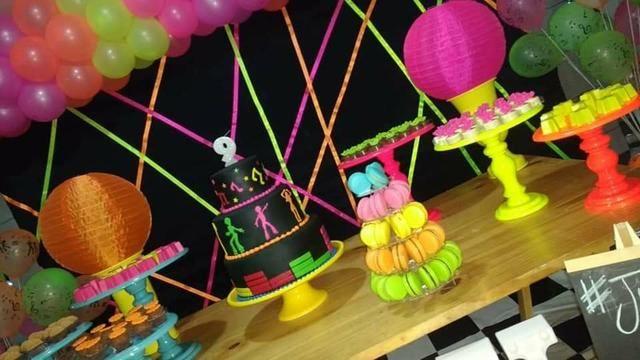 Festa neon em kit paletes - Foto 5