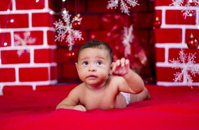 Ensaio de Natal infantil