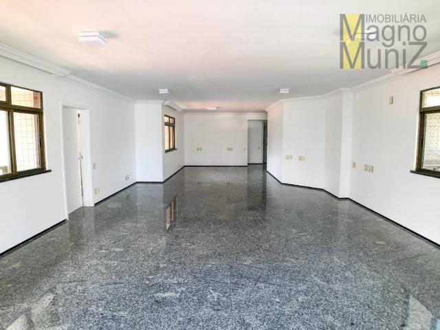 Apartamento com 4 suítes para alugar, 300 m² por r$ 2.500/ano - meireles - fortaleza/ce - Foto 4