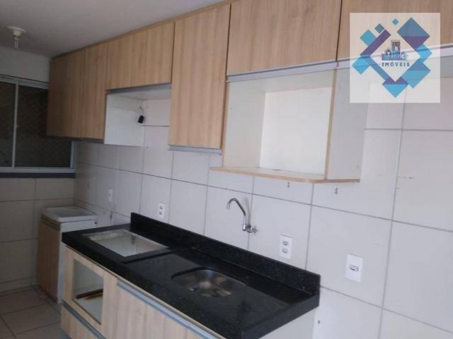 Apartamento com 3 dormitórios à venda, 63 m² por R$ 260.000 - Parangaba - Fortaleza/CE - Foto 4