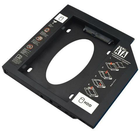 Adaptador Porta Cd 12,7 Mm Para Hd Ssd Multilaser Ga173