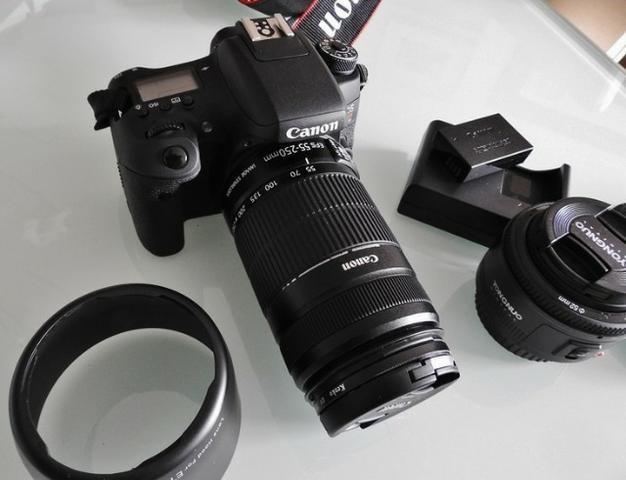 Máquina Fotográfica Canon Rebel T6s - Foto 3