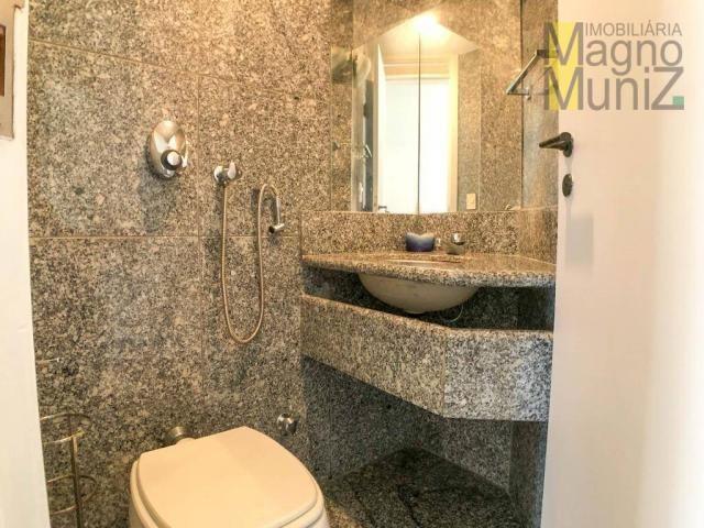 Apartamento com 4 suítes para alugar, 300 m² por r$ 2.500/ano - meireles - fortaleza/ce - Foto 10