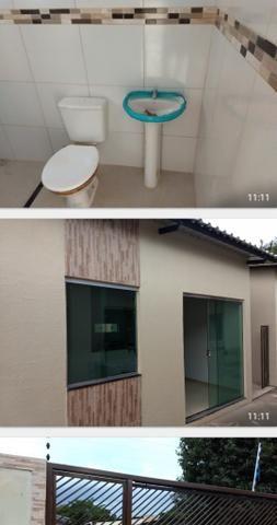 Casas em CONDOMÍNIO FECHADO itacoatiara 120 mil PRONTINHA para financiamento - Foto 2