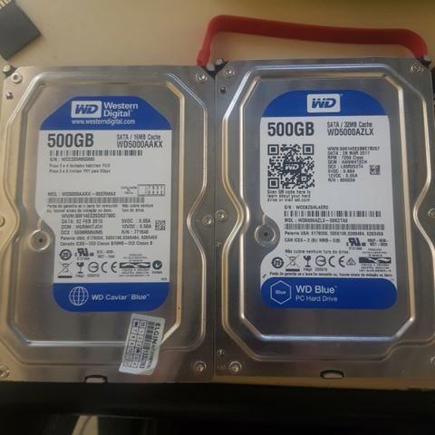 Hd's 500gb e 320GB - Foto 3