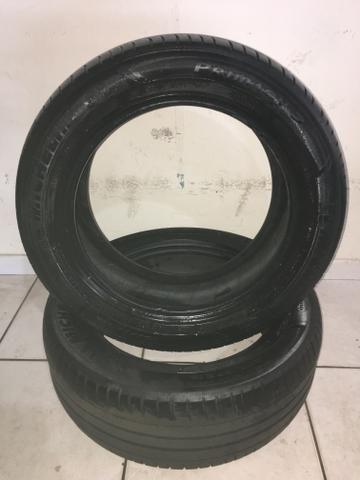 Par de pneus Michelin 205/55 R16 Honda City - Foto 2