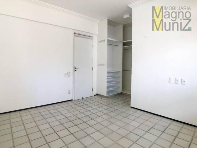 Apartamento com 4 suítes para alugar, 300 m² por r$ 2.500/ano - meireles - fortaleza/ce - Foto 13