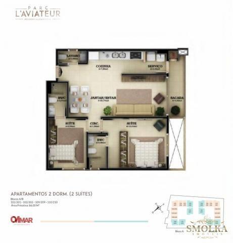 Apartamento à venda com 2 dormitórios em Campeche, Florianópolis cod:9830 - Foto 6