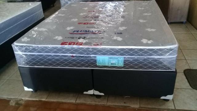 Cama queen size molas bonnel apenas 799 preço de fabrica - Foto 6