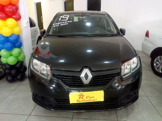 Renault Logan 1.0 comp + Gnv ent 48 x 798,00 informações * Gilson