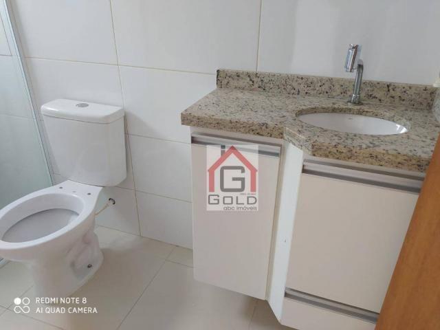 Apartamento com 3 dormitórios para alugar, 88 m² por R$ 2.000,00/mês - Campestre - Santo A - Foto 16