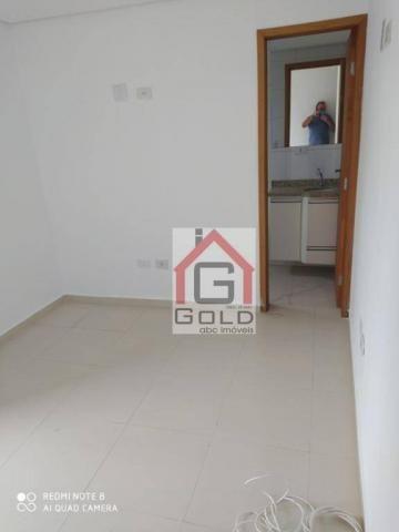 Apartamento com 3 dormitórios para alugar, 88 m² por R$ 2.000,00/mês - Campestre - Santo A - Foto 10