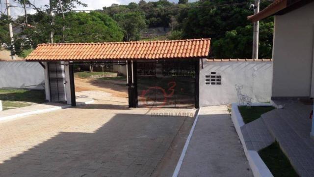 Casa nova 2 dormitorios, 1 suite, 2 vagas, piscina, em condominio Km 44 da Raposo. - Foto 18