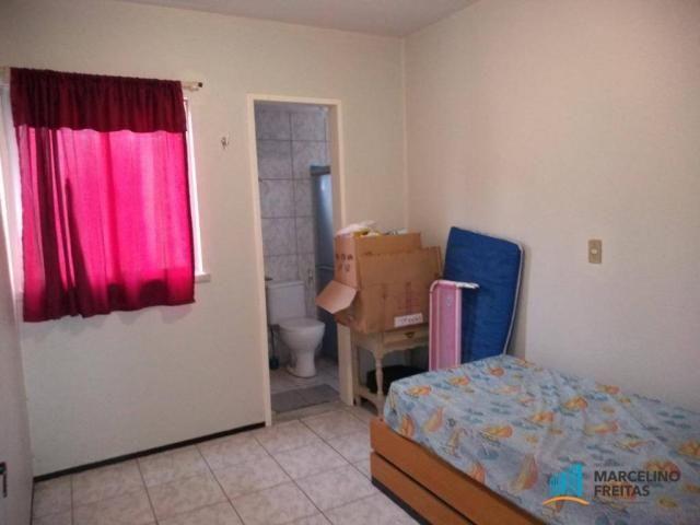 Apartamento com 3 dormitórios para alugar, 80 m² por R$ 859,00/mês - Icaraí - Caucaia/CE - Foto 14