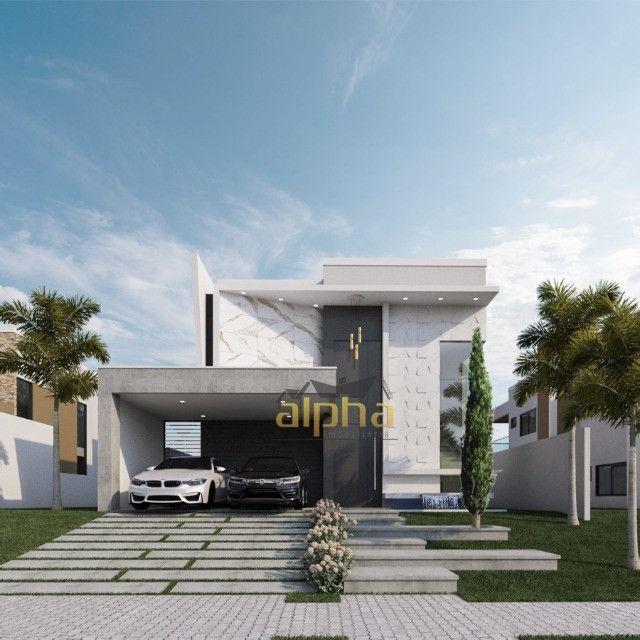 Luxuosa Casa em Condomínio Fechado - Alphaville Terras Ceará 01 - Foto 2