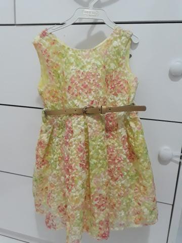 Vestido floral 2anos