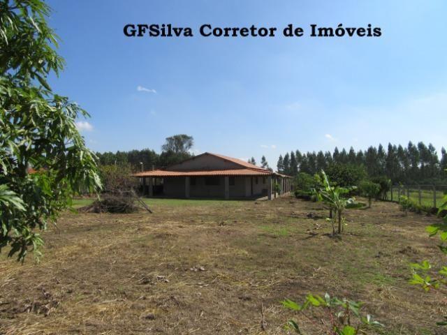 Chácara 2.027 m2 água encanada, lúz, casa ampla, Oportunidade Ref. 445 Silva Corretor - Foto 2