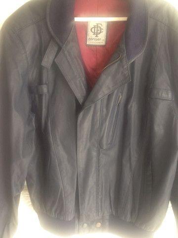 Jaqueta de couro argentina