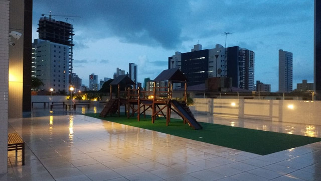 Apartamento no Miramar Nobre, Andar alto vista definitiva e Área de Lazer completa! - Foto 16