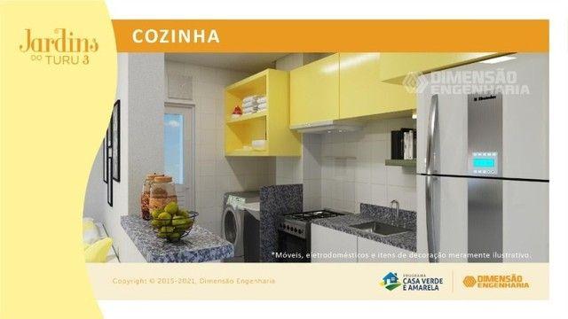 condomínio no turu, com apto de 56m², 2 quartos - Foto 2