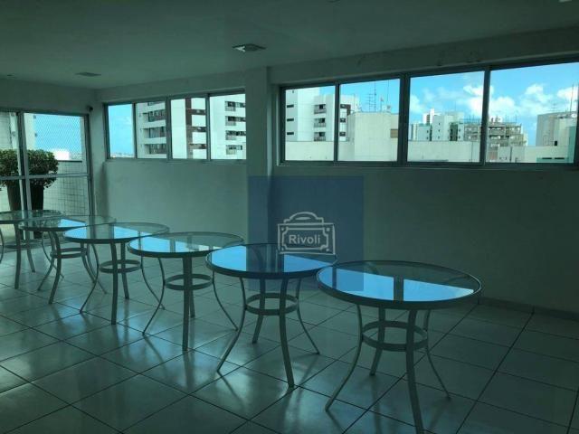Apartamento para alugar, 48 m² por R$ 2.100,00/mês - Tamarineira - Recife/PE - Foto 19