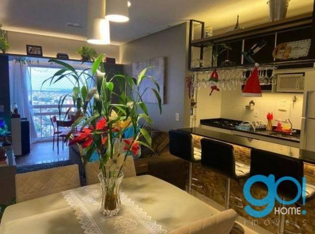 Apartamento com 3 dormitórios à venda, 78 m² por R$ 550.000 - Cremação - Belém/PA - Foto 7