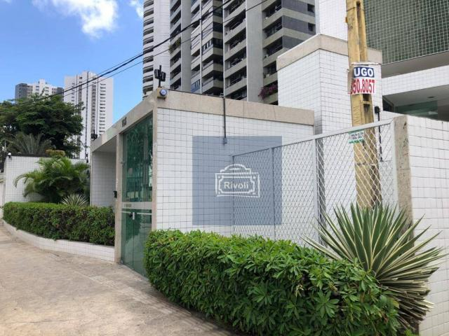 Apartamento para alugar, 48 m² por R$ 2.100,00/mês - Tamarineira - Recife/PE - Foto 12