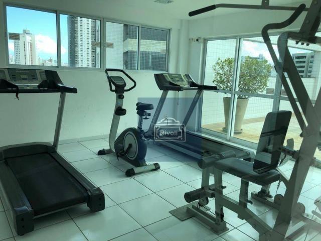 Apartamento para alugar, 48 m² por R$ 2.100,00/mês - Tamarineira - Recife/PE - Foto 20