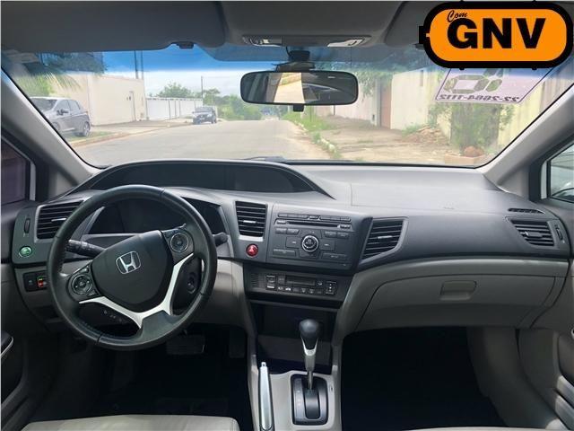 Honda Civic 2.0 lxr 16v flex 4p automático - Foto 8