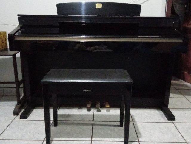 piano yamaha clavinova cpl330 eletrônico - Foto 5