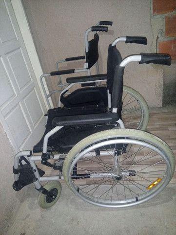 2 cadeiras de rodas novas 1000 mil reais - Foto 6